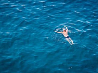 Schwimmen ist gut für Gelenke