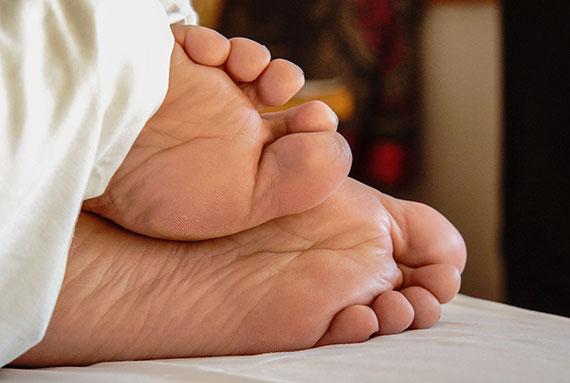 Für schöne Füße muss man einiges tun