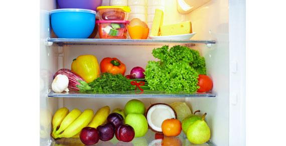 Kühlschrank füllen während einer Diät