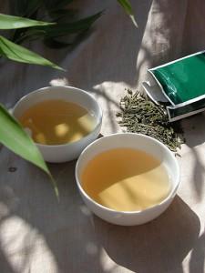 Grüner Tee bindet Fett durch enthaltene Catechine