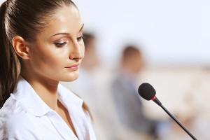 Mit der Stimme kann der Erfolg beeinflusst werden