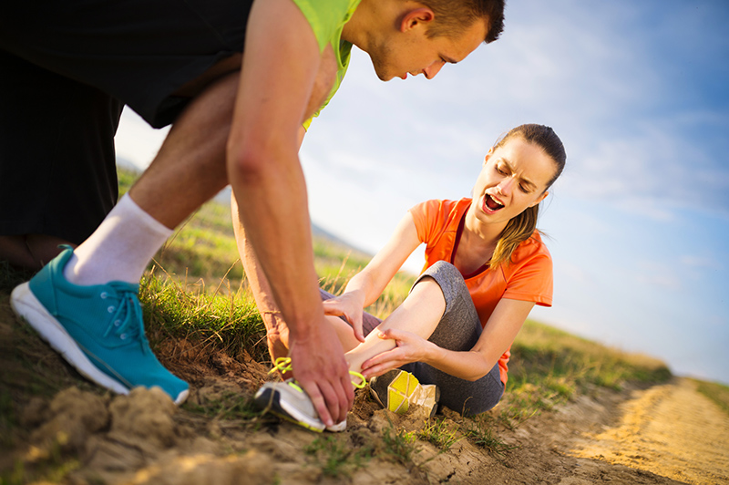 Sportverletzung schnell behandeln