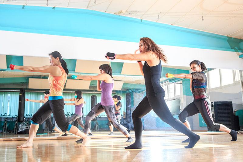 Piloxing ist eine Mischung aus Pilates, Boxen und Tanzen