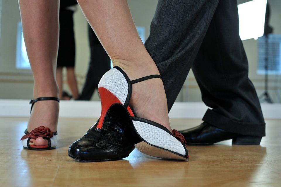 Hübsche Tanzschuhe