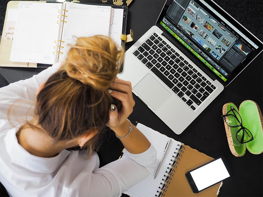 Negativer Stress hindert am Abnehmen